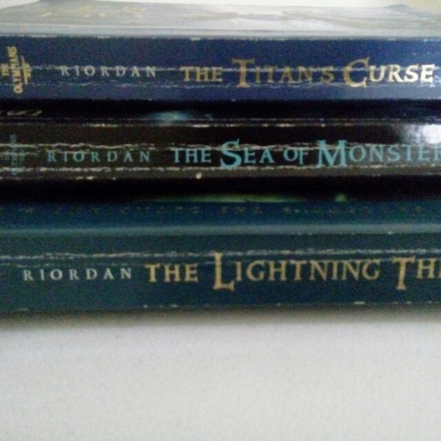 Percy Jackson And The Olympians Books 1-3