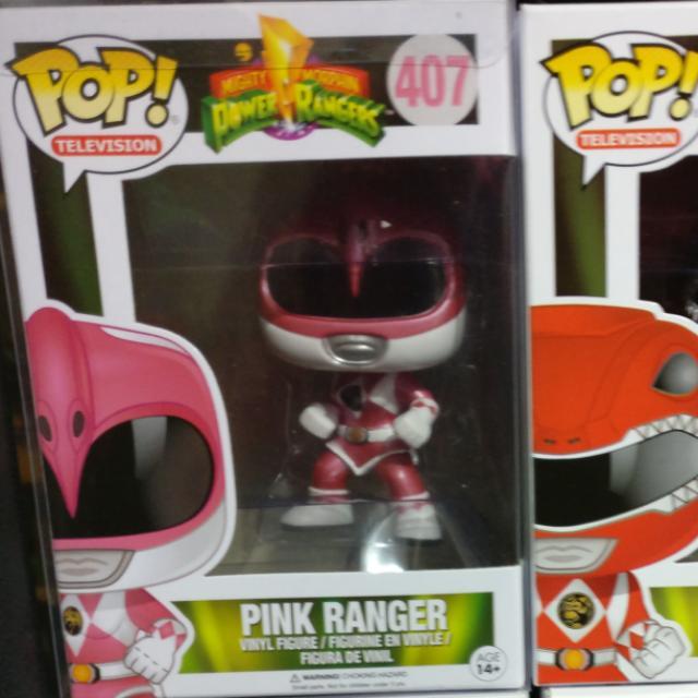 Pink Ranger Metallic Funko Pop