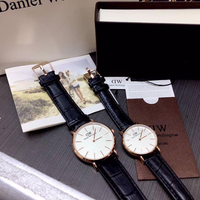 PREMIUM SET Daniel wellington Couple Set, Men's Fashion, Watches on Carousell