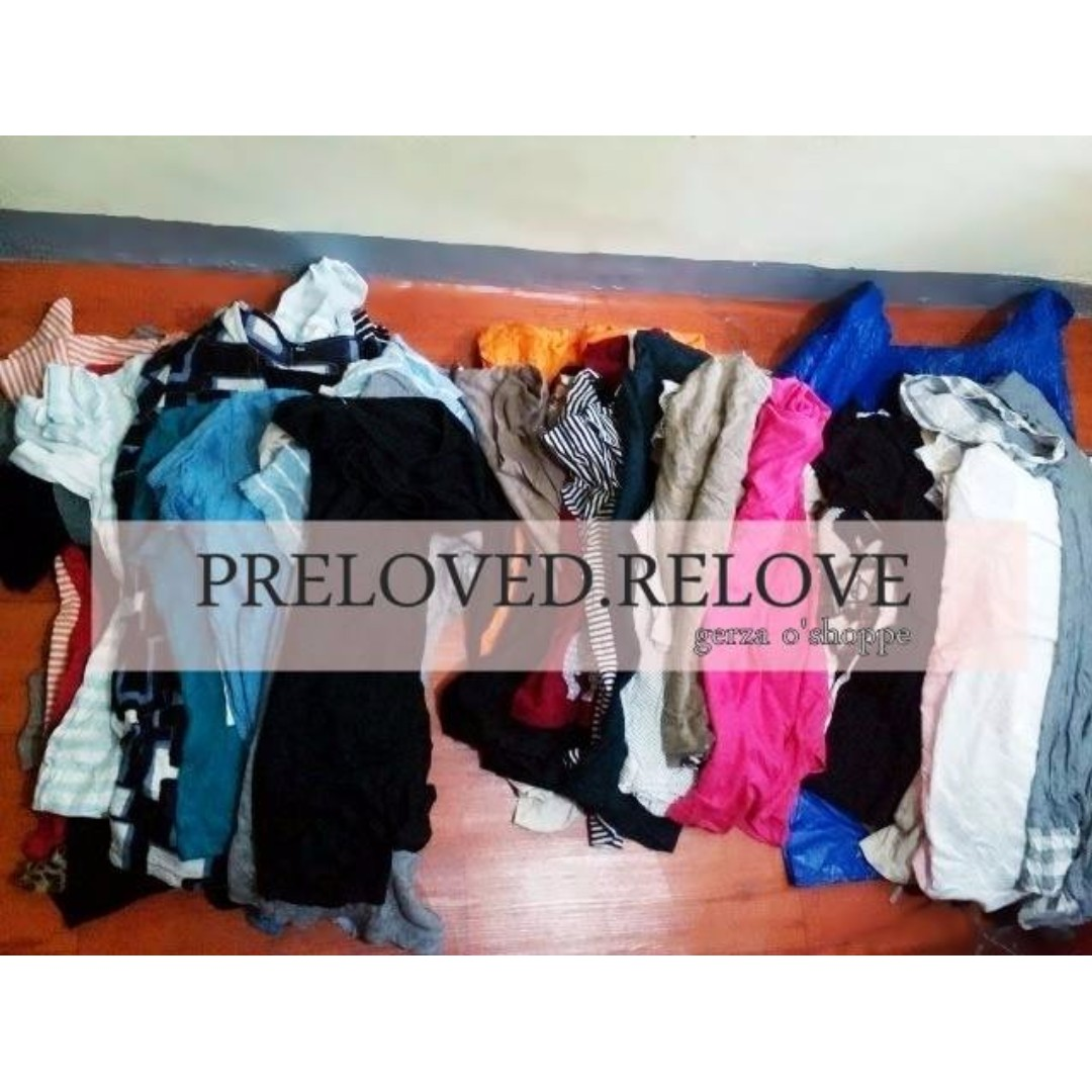 17pcs Prepack Preloved Blouses