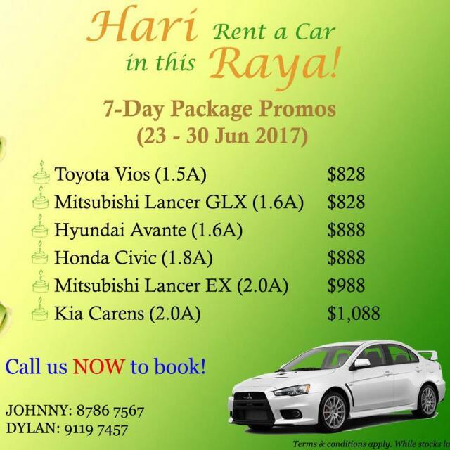 punggol east car rental cars vehicle rentals on carousell rh sg carousell com