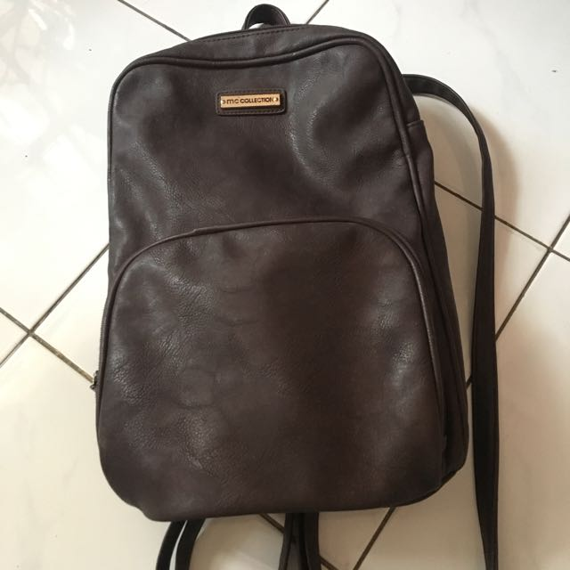 Ransel marie claire brown