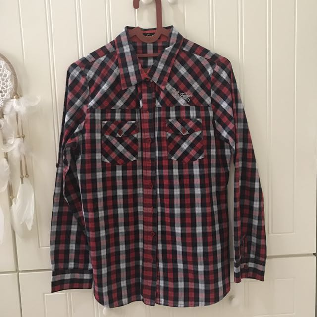 Red Square Shirt