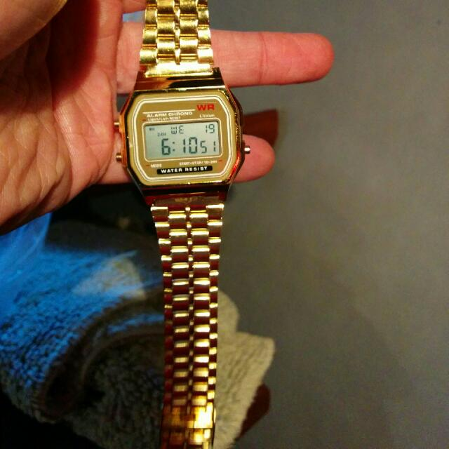 Retro 80's Digital Watch