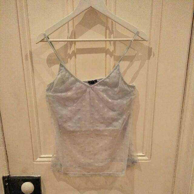 River Island Sheer Top