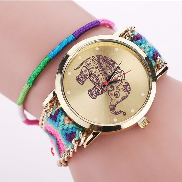 [RS] CLEARANCE Friendship Bracelet Braided Watch