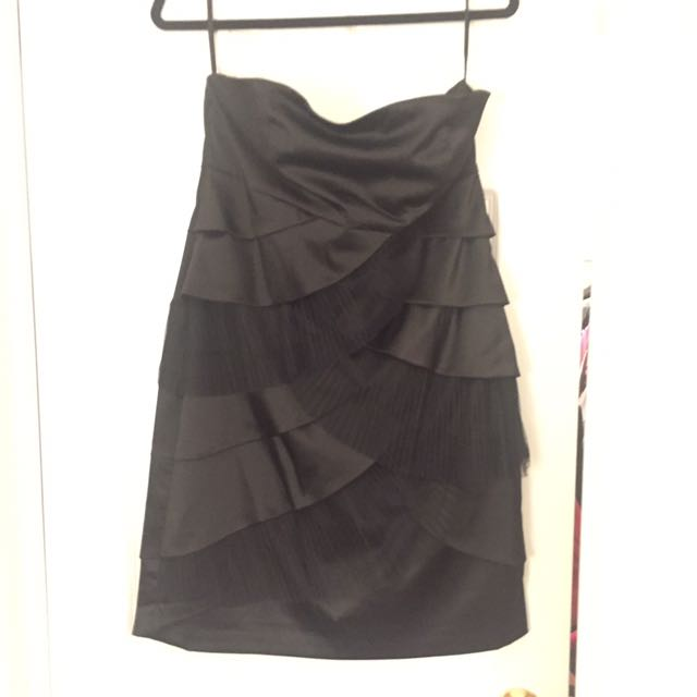 RW & Co Black Evening Dress Size 12