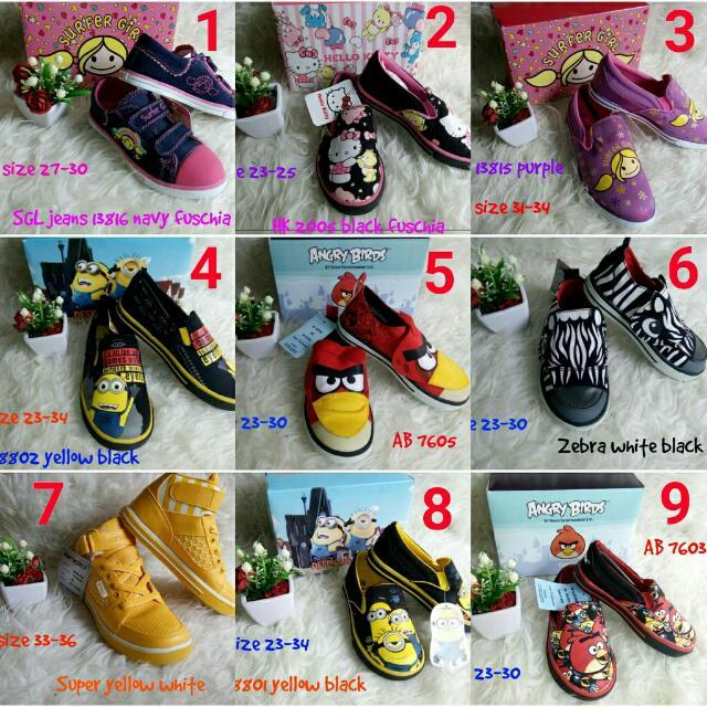 Sepatu Anak merk ANDO