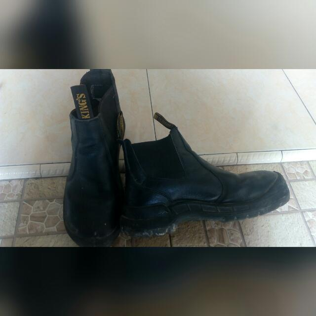 sepatu safety Kings kwd706x..kondisi bekas pakai