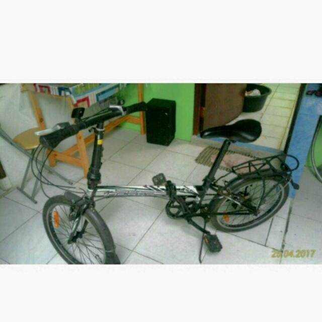 Sepeda Lipat Msh Bgus.. Merk Folding