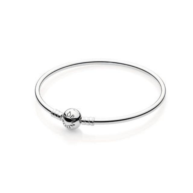 Silver Bangle Bracelet - PANDORA