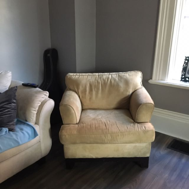 Suede Sofa Chair