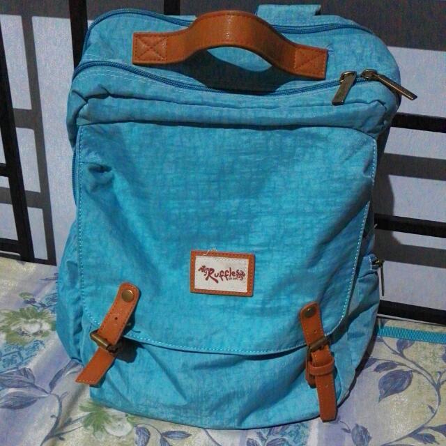 [TOP PICK] Ruffles Laptop Backpack
