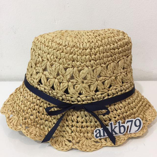 Topi Anak Perempuan Cantik Beli Di Japan 2-3 Thn