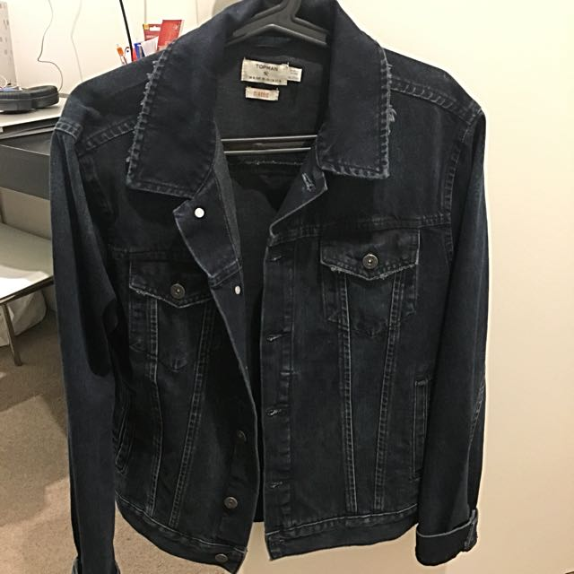 Topman Denim Jacket M Size