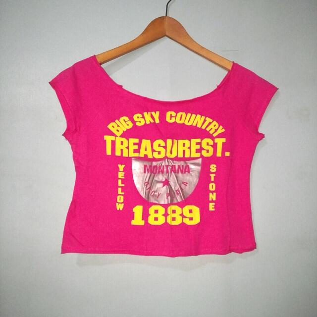 Treasure St. 1889 Crop Top