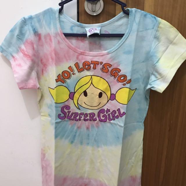 Tshirt Surfer Girl Ori