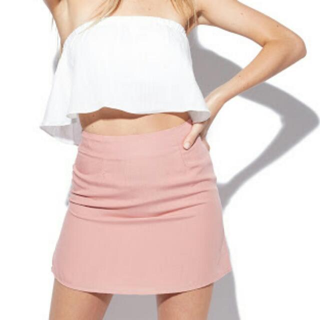 Universal Store Perfect Strangers Pink Skirt