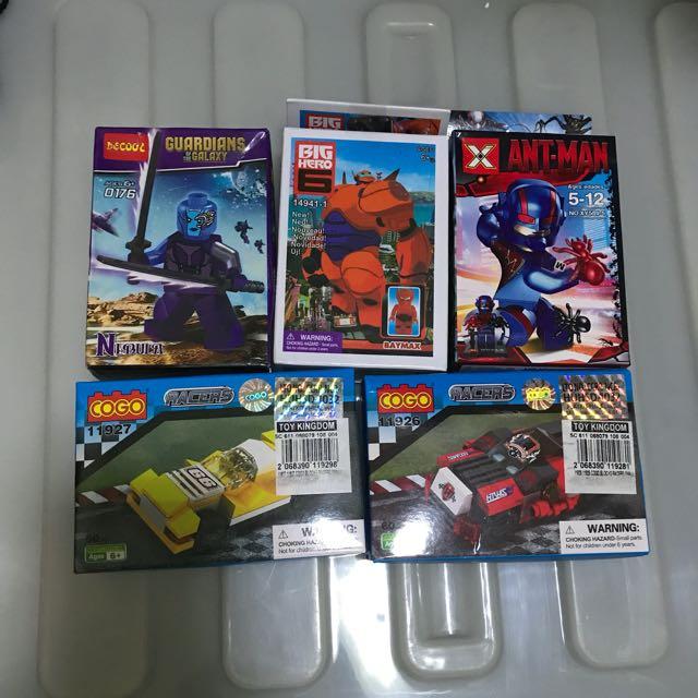 Various Lego Replica