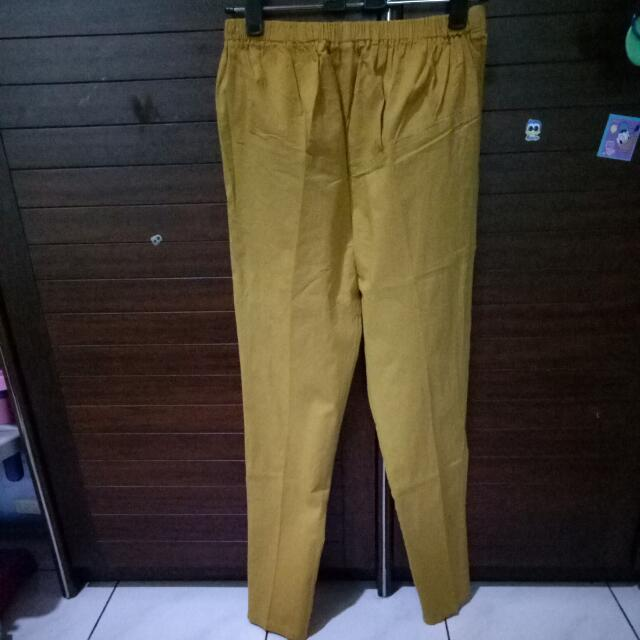 NEW Yellow Pants