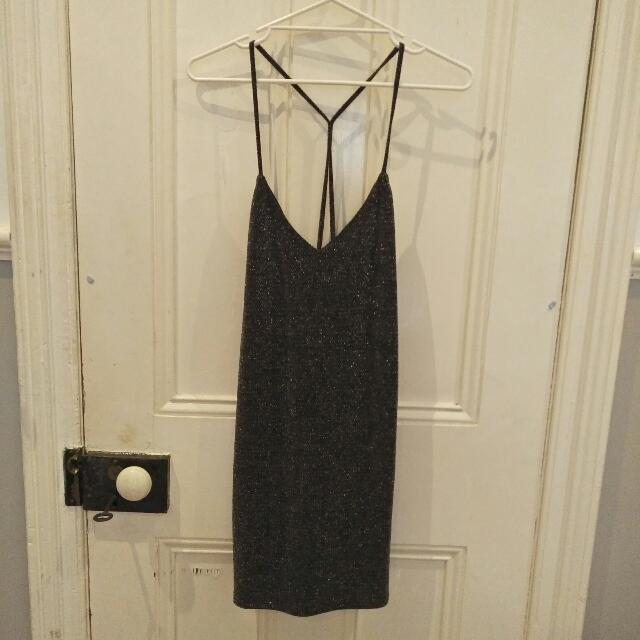 Zara Sparkly Mini Dress