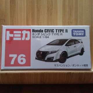 🚚 Tomica No.76 Honda CIVIC TYPE R
