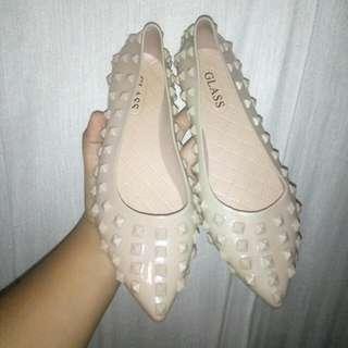 Flatshoes Coklat Bagus