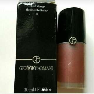 Giorgio Armani fluid sheer fluide embellisseur 12