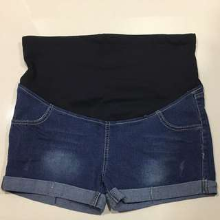 BNWT Maternity Denim Shorts