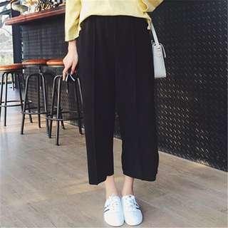 [PO] Black Culotte Pant