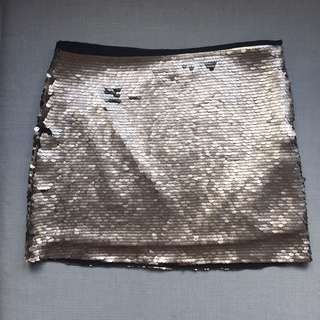Zara Sequins Skirt