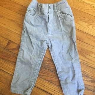 Grey Corduroy Jeans
