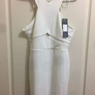 New White Cute Dress