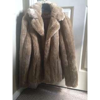 A Wear Faux Fur Coat