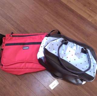 His and Hers Diaper Bags