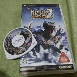 Umd Monster Hunter Portable 2