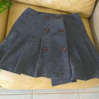 Grey Britney Baby One More Time Skirt :)