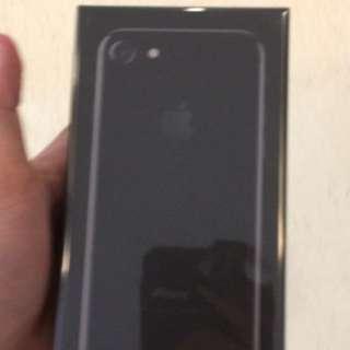 Brand new iPhone7 128GB Jetblack