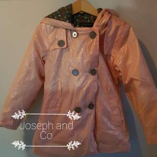 Pumpkin Patch Waterproof Trench Coat With Warm Lining Size 5