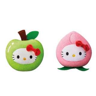 McCafé 青蘋果及蜜桃造型Hello Kitty 套裝