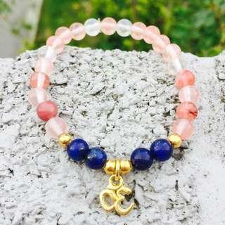Om Stone Bracelet
