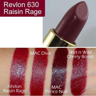Revlon 經典璀璨唇膏 630