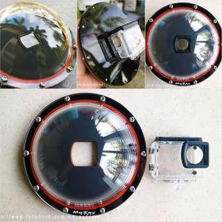 Dome for GoPro Hero 3+, Hero 4, Hero 5, Entry Level, Hero + LCD