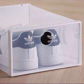 Stackable Drop Front Shoe Box