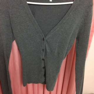 Urban Behaviour Dark Grey Cardigan