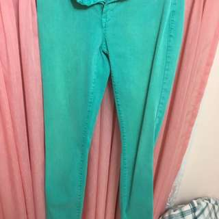 Sea Green Pants