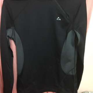 Black Athletic Top