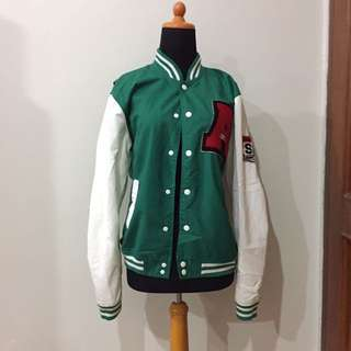Green Varsity/Football/Sports Jacket
