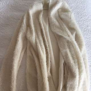 Furry White Jacket