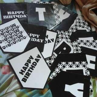 Gratis Banner Happy Birthday (Tulisan Happy Birthday)